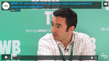 IDBS Bioprocess video with Jarrod Medeiros