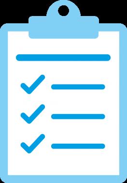 IDBS Clipboard Checklist