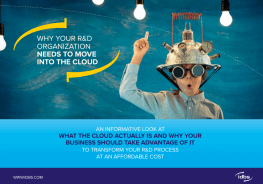 Why your R&D organization needs to move into the cloud
