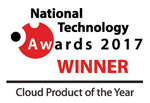 E-WorkBook Cloud national technology awards