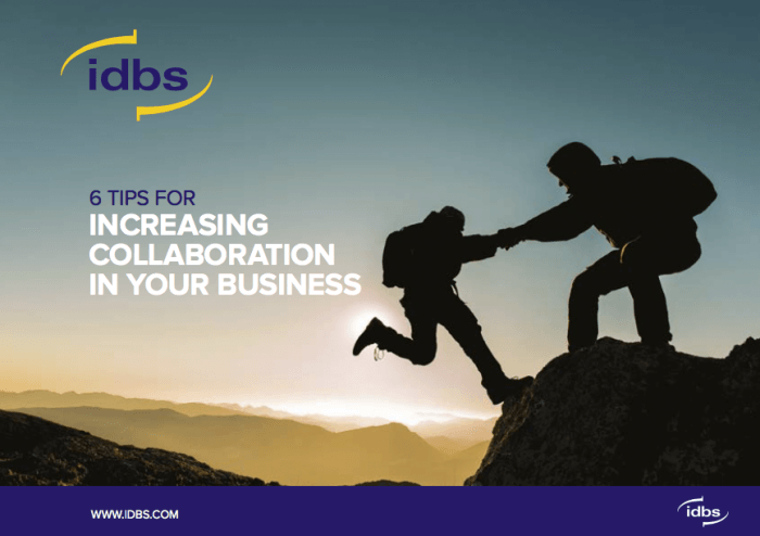 Tipsheet: 6 tips for increasing collaboration in your business