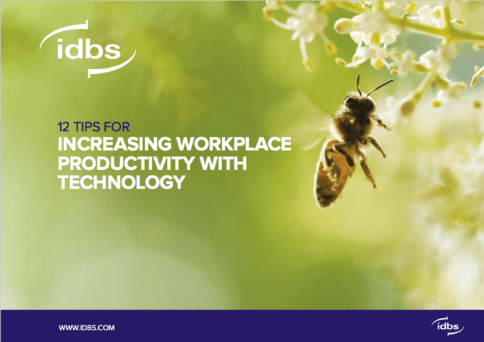 Tipsheet: 12 tips for increasing workplace productivity with technology