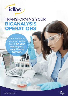 Solution Brief: Transforming your Bioanalysis Operations