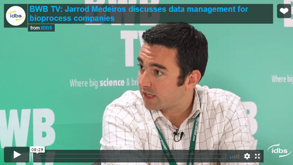 IDBS Bioprocess video with Jarrod Medeiros