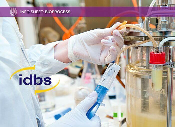 Info Sheet: The IDBS Bioprocess Solution
