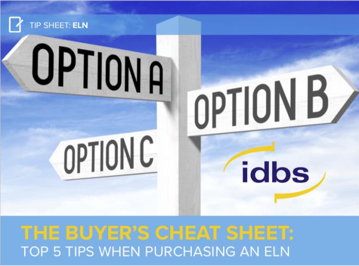 Tip Sheet: The ELN Buyer's Cheat Sheet