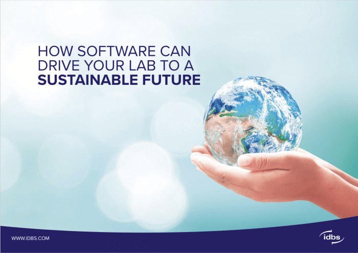 eBook: How software can drive your lab to a sustainable future