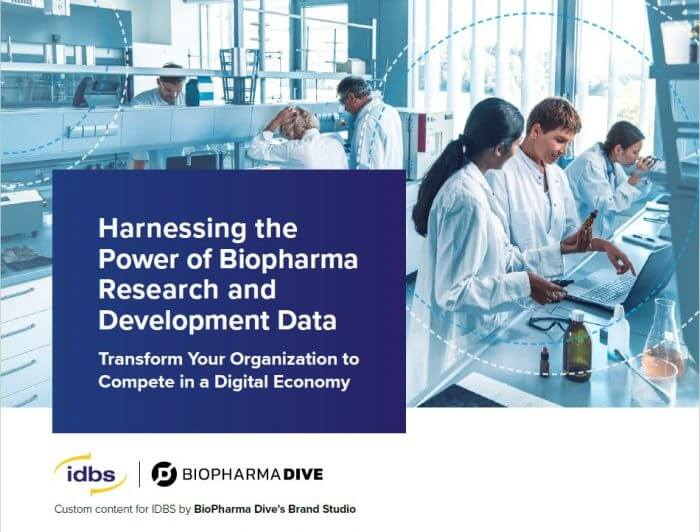 eBook: Harnessing the Power of Biopharma Research and Development Data