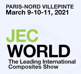 JEC World Composites: March 9-11, 2021