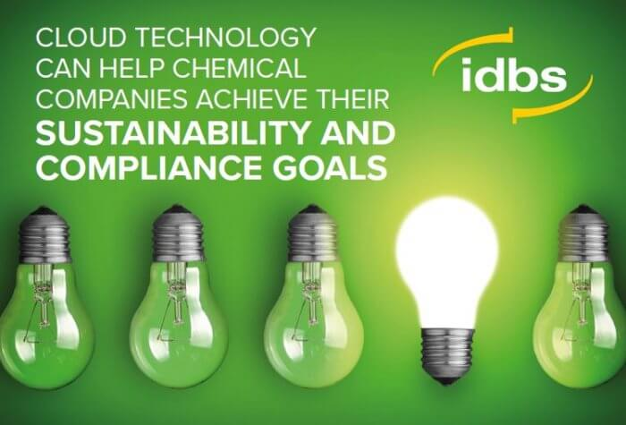 Info Sheet: Cloud technology can help chemical companies achieve their sustainability and compliance goals