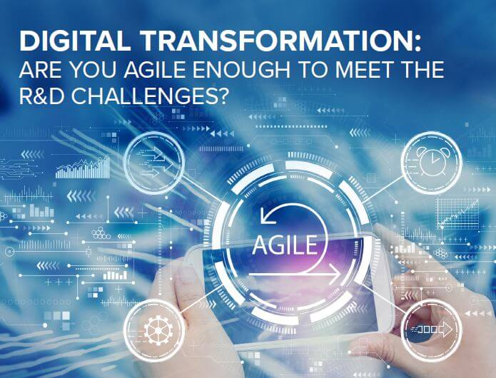 Info Sheet: Digital transformation: Are you agile enough to meet the R&D challenges?