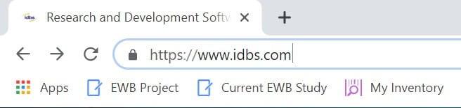 save E-WorkBook bookmarks